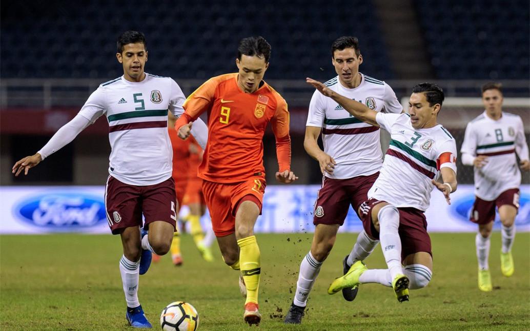 U21国足1-1墨西哥斩获亚军 刘若钒破门