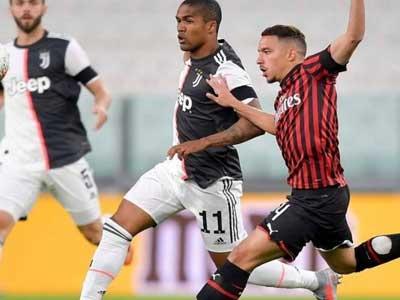 C罗失点!尤文主场战平十人米兰晋级意大利杯决赛