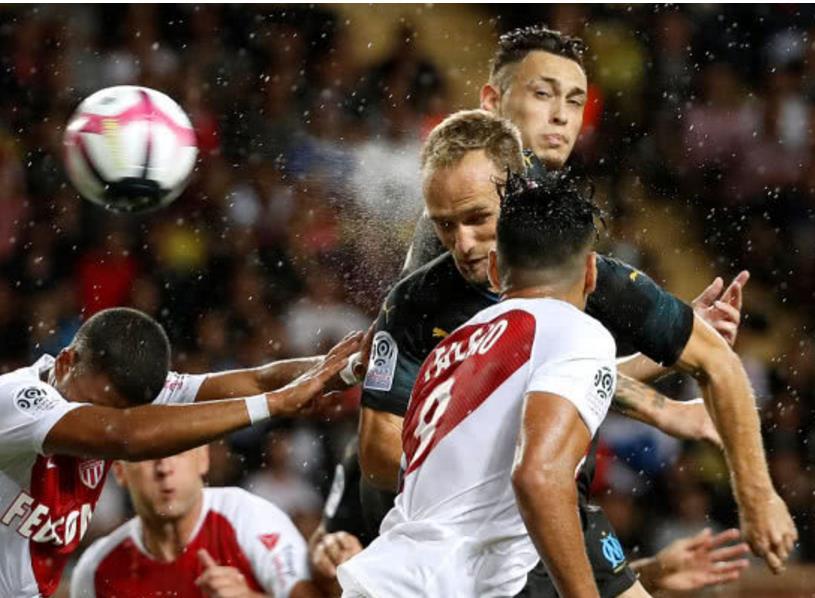 摩纳哥2-3不敌马赛 法尔考破门热尔曼绝杀