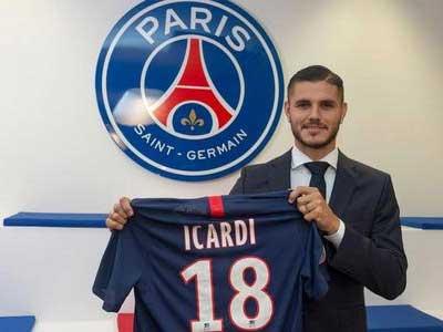 队报报道,巴黎圣日尔曼将以6000万欧买断伊卡尔迪