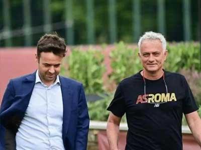 罗马总监质疑记者:你想制作我和穆帅之间的冲突,咱们只专心于进步自己