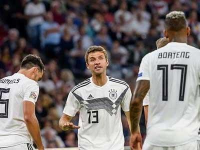 德国领队采访表示,穆勒、博阿滕以及胡梅尔斯三名老将很难重返德国队
