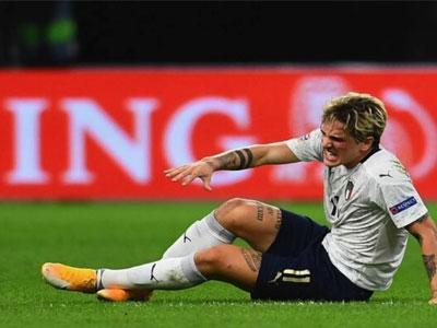 意媒报道,罗马球员扎尼奥洛有可能再次遭遇韧带撕裂