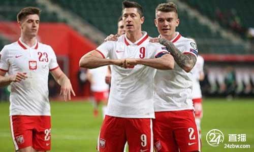 官方消息:莱万多夫斯基因右膝伤势退出波兰国家队