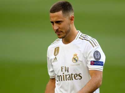 西班牙媒体报道,阿扎尔预期在马德里德比中复出