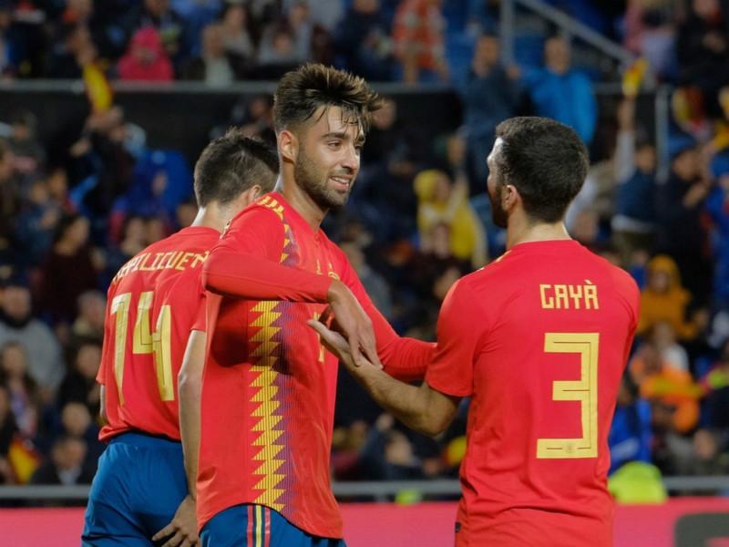 西班牙1-0波黑 门德斯建功莫拉塔失良机