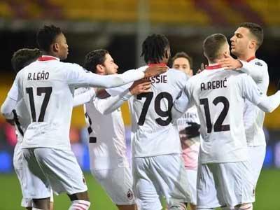 凯西进球,托纳利红牌,AC米兰2-0赢下贝内文托