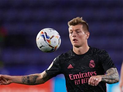 进球网报导,克罗斯有望在本周末西甲联赛中复出