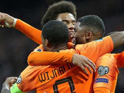 歐預賽荷蘭主場大勝愛沙尼亞,利物浦大將戴帽