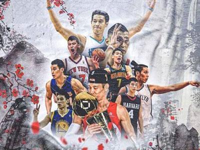 书豪晒粉丝制作海报:中国风和生涯九支球队各时期形象