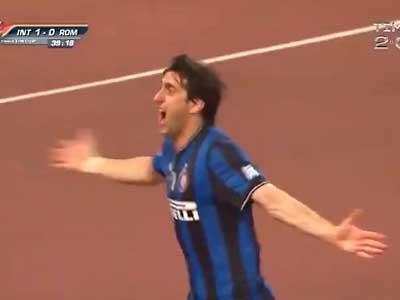 米利托2010年三场4球成就国米三冠王