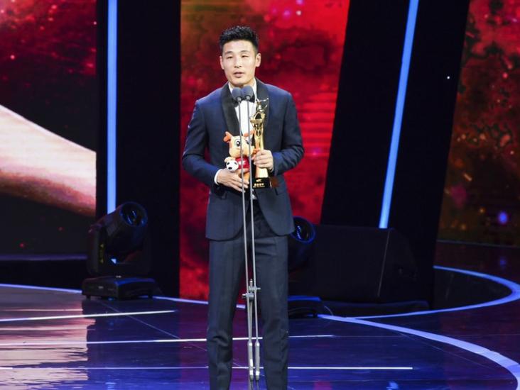 荣耀!武磊获得年度最佳射手奖