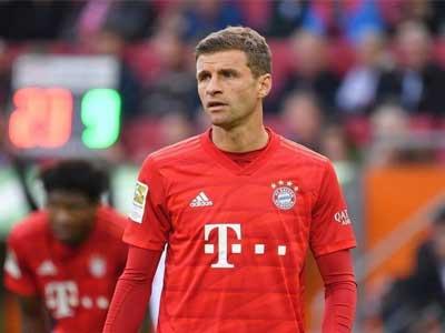 德甲第13輪最佳陣容出爐,拜仁球星穆勒領銜