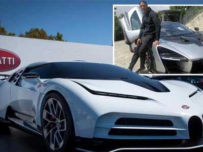 C罗订购限量版跑车,售价高达950万欧