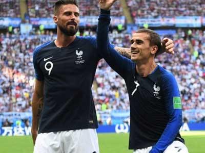 格列兹曼:我爱吉鲁,他为法国队拿到了世界杯冠军