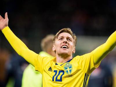 瑞典球员身价排行榜出炉,福斯贝里仅位列第3位