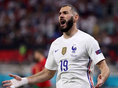 里程碑!本泽马成为欧洲杯中梅开二度的最年长法国球员