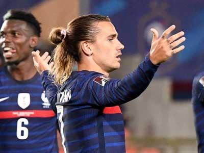格列兹曼建功,哲科进球,法国1-1战平波黑