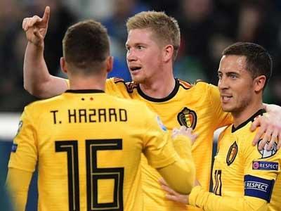 欧洲杯前瞻:比利时主场迎战塞浦路斯