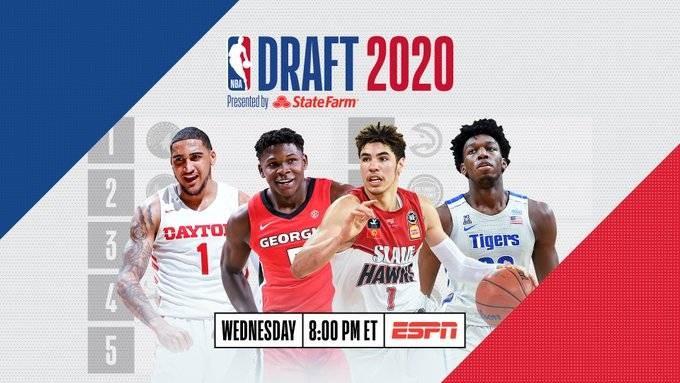 2020年NBA选秀大会汇总(实时更新中)