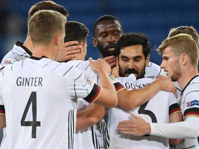 京多安推射,德国客场1-1憾平瑞士