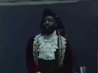 布鲁克林的海盗,胡子球手惊艳出场秀