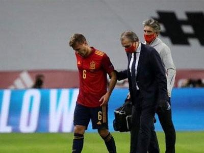 西班牙官方消息,卡納萊斯以及拉莫斯遭遇了肌肉傷病
