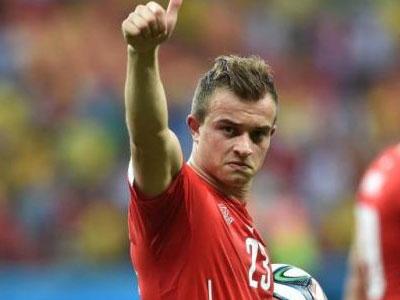 经典回顾!看看瑞士梅西沙奇里在世界杯的超级世界波