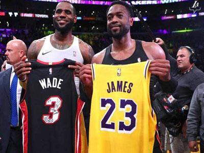 韦德称詹姆斯目前强于NBA百分之九十九的球员