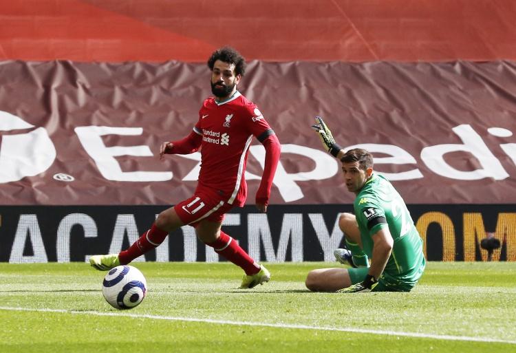 BBC评论员:萨拉赫似乎只对金靴奖感兴趣,这给队友带来负面影响