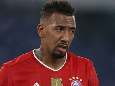 体育图片报到,拜仁后卫博阿滕将在本赛季结束后离队