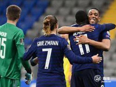 登贝莱破门,姆巴佩失点,世预赛法国2-0胜哈萨克斯坦