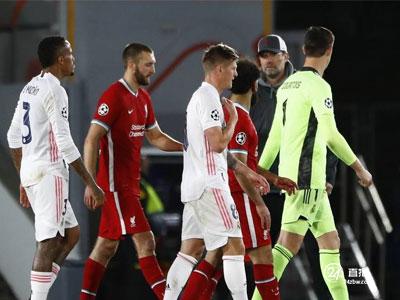 克洛普:客场进球让利物浦仍有机会