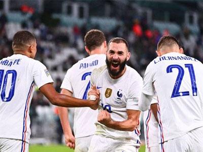 本泽马、姆巴佩破门,特奥绝杀,法国3-2逆转比利时晋级欧国联决赛