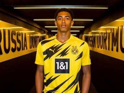 官方消息,多特蒙德正式簽約英格蘭小將貝林厄姆,球員將身披22號球衣