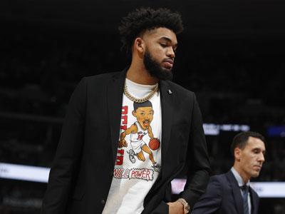 NBA高管称唐斯对森林狼现在的处境不开心,勇士密切关注