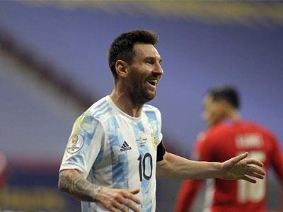 ESPN报道,迎战玻利维亚梅西可能迎来轮休